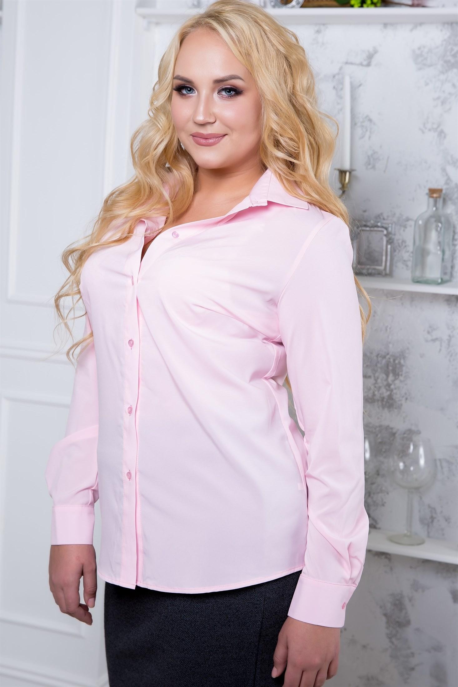 522-03 Розовая блуза