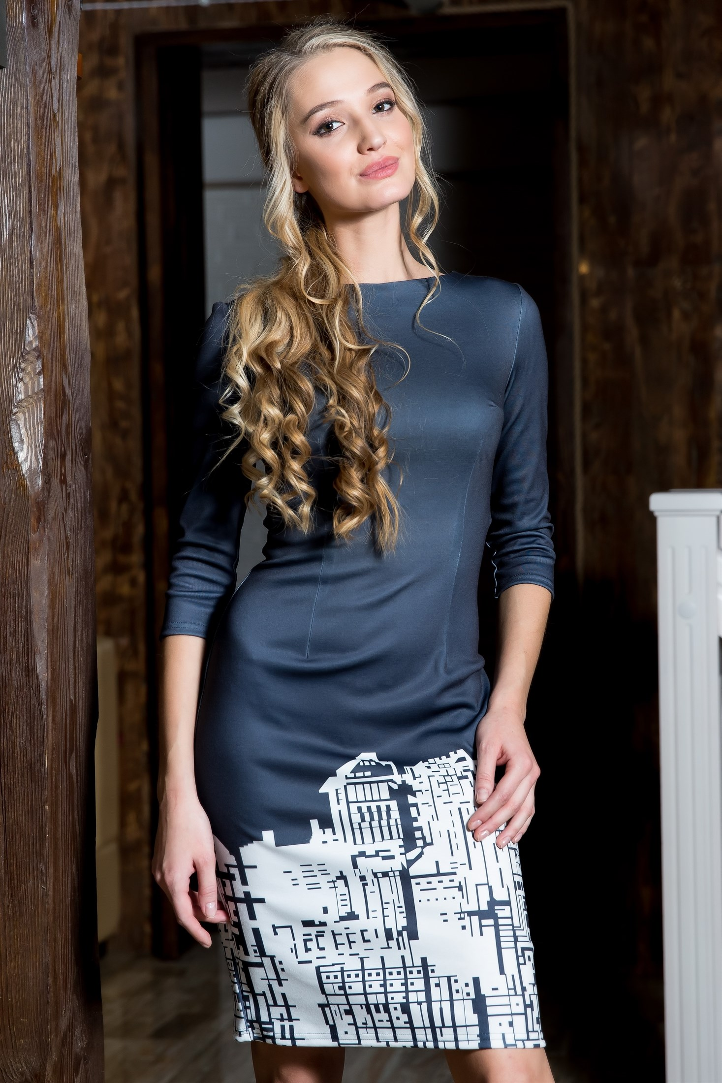 55-03 Платье