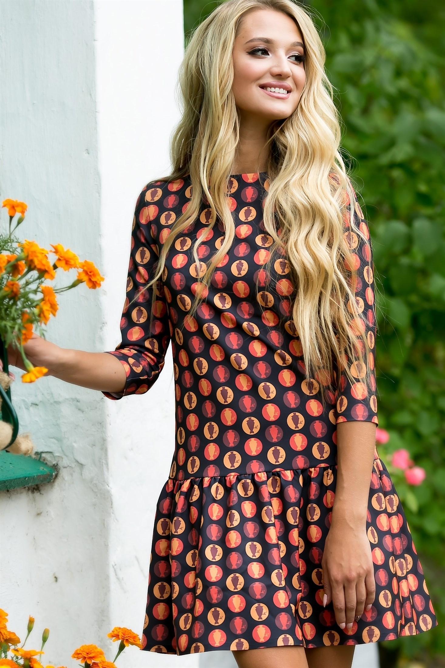 73-07 Платье