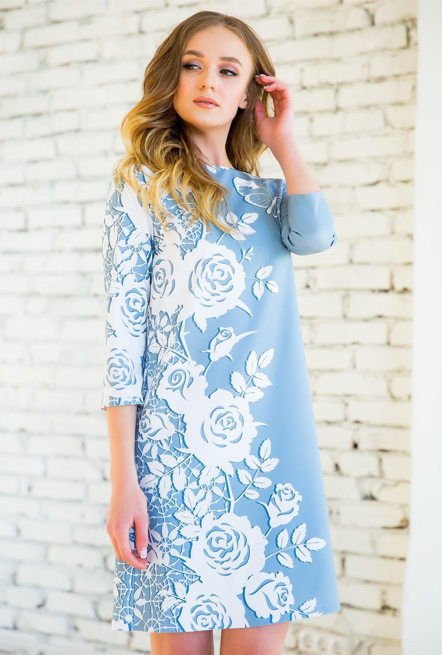 76-07 Платье