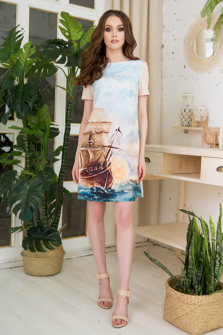 83-04 Платье