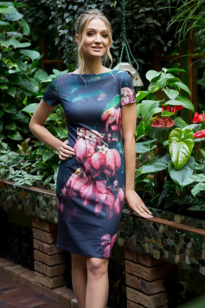 87-07 Платье