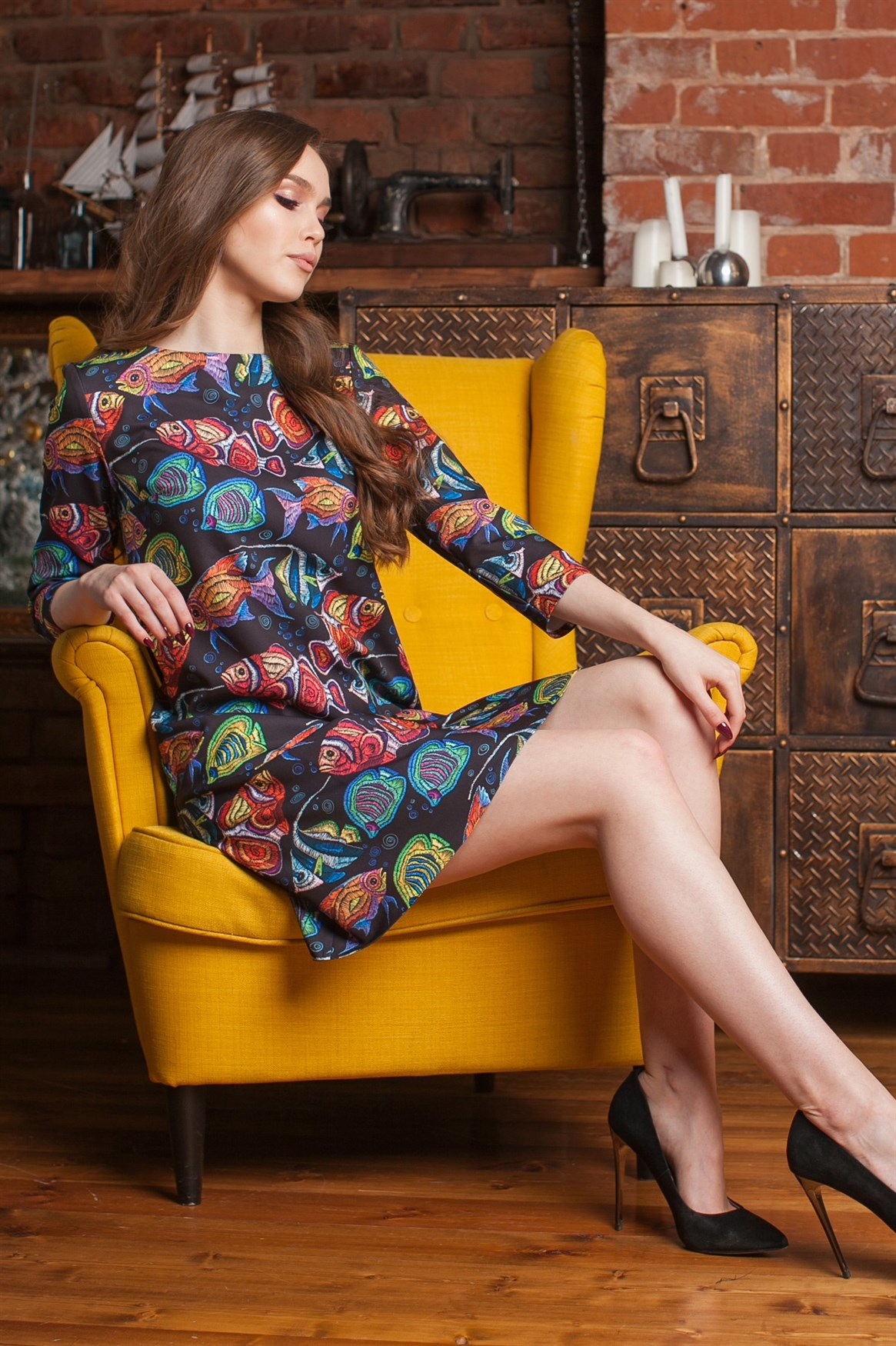 96-12 Платье - фото 10186