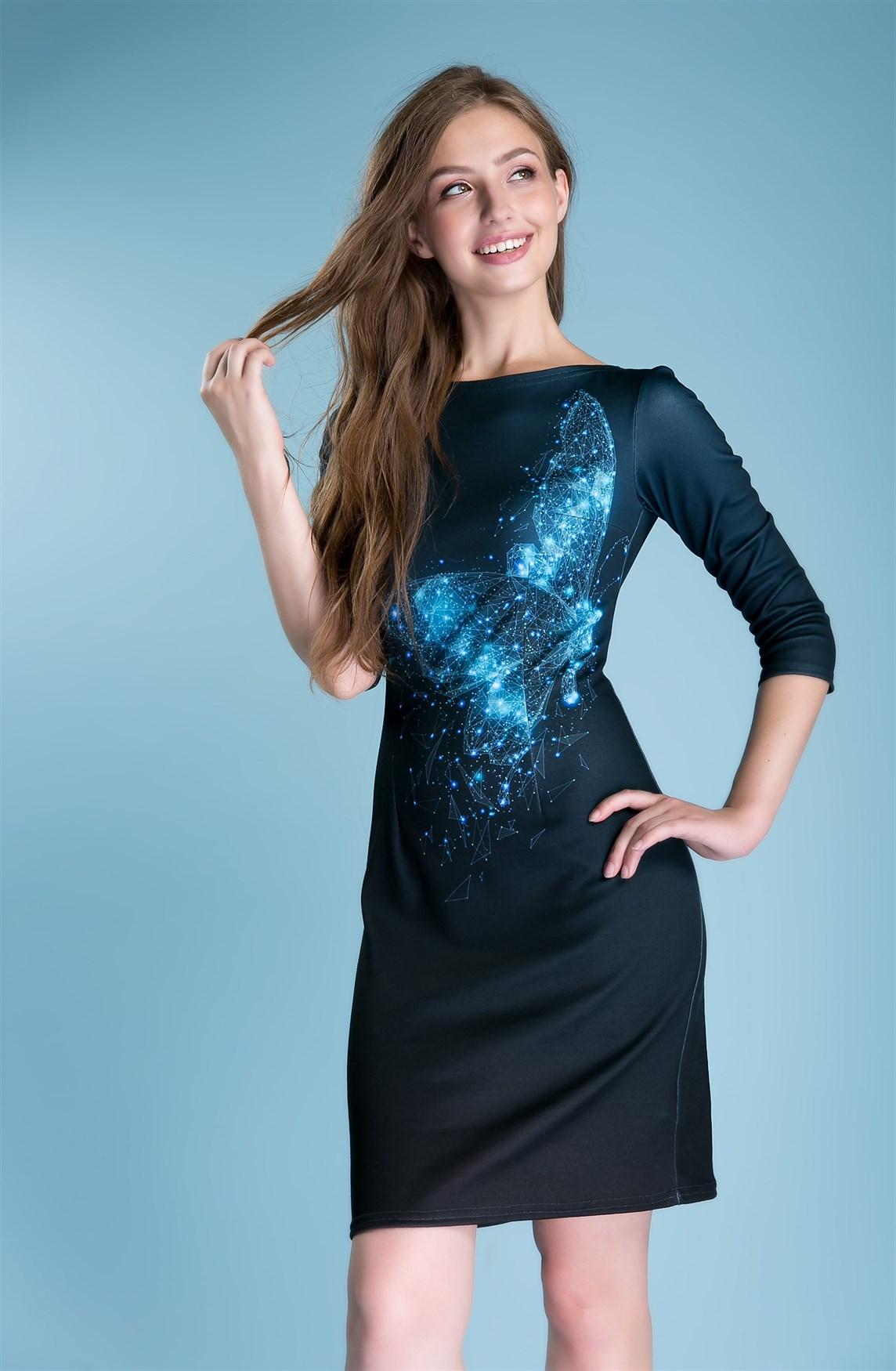 S053 Платье - фото 10461