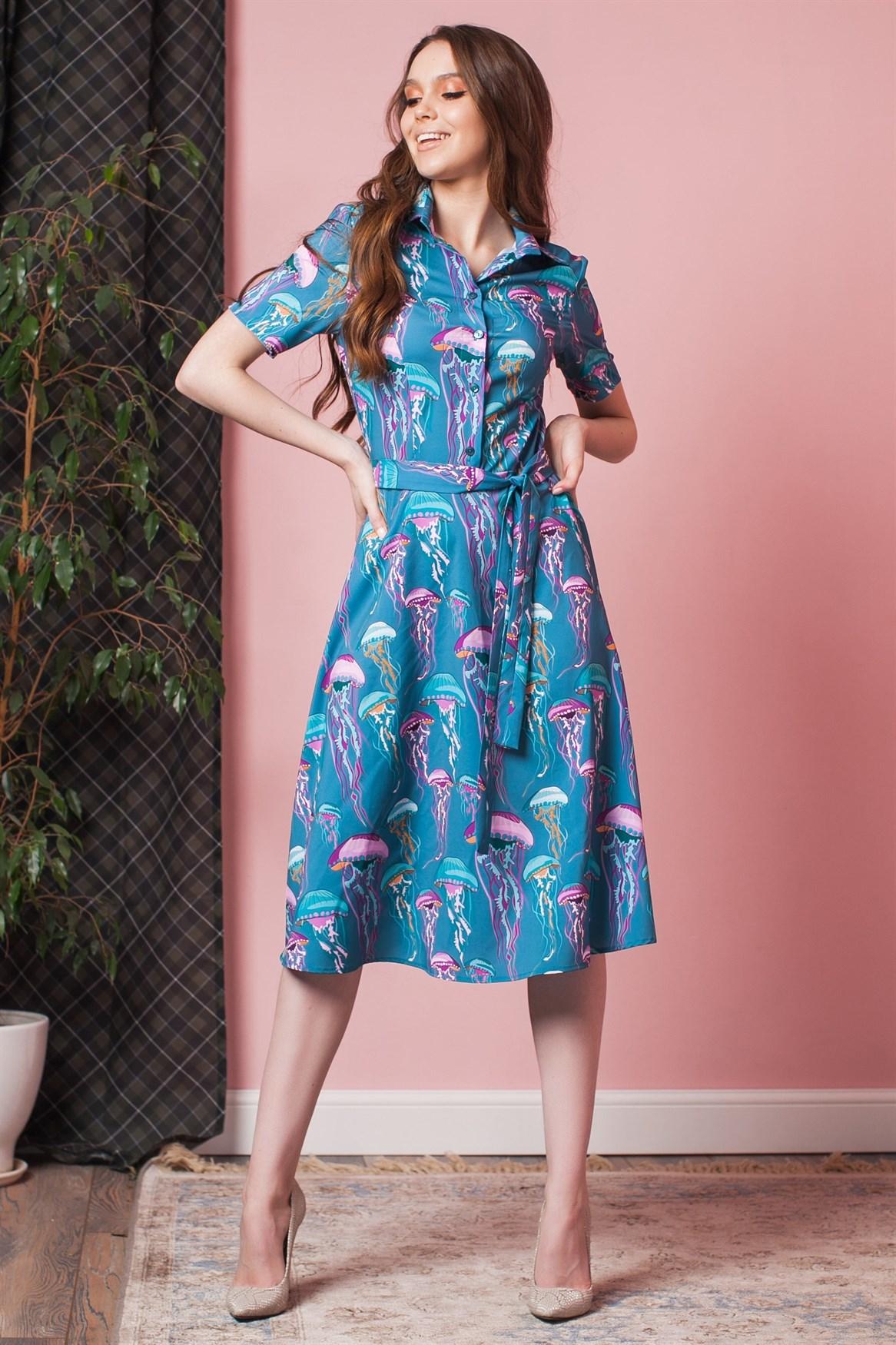 100-03 Платье - фото 11189