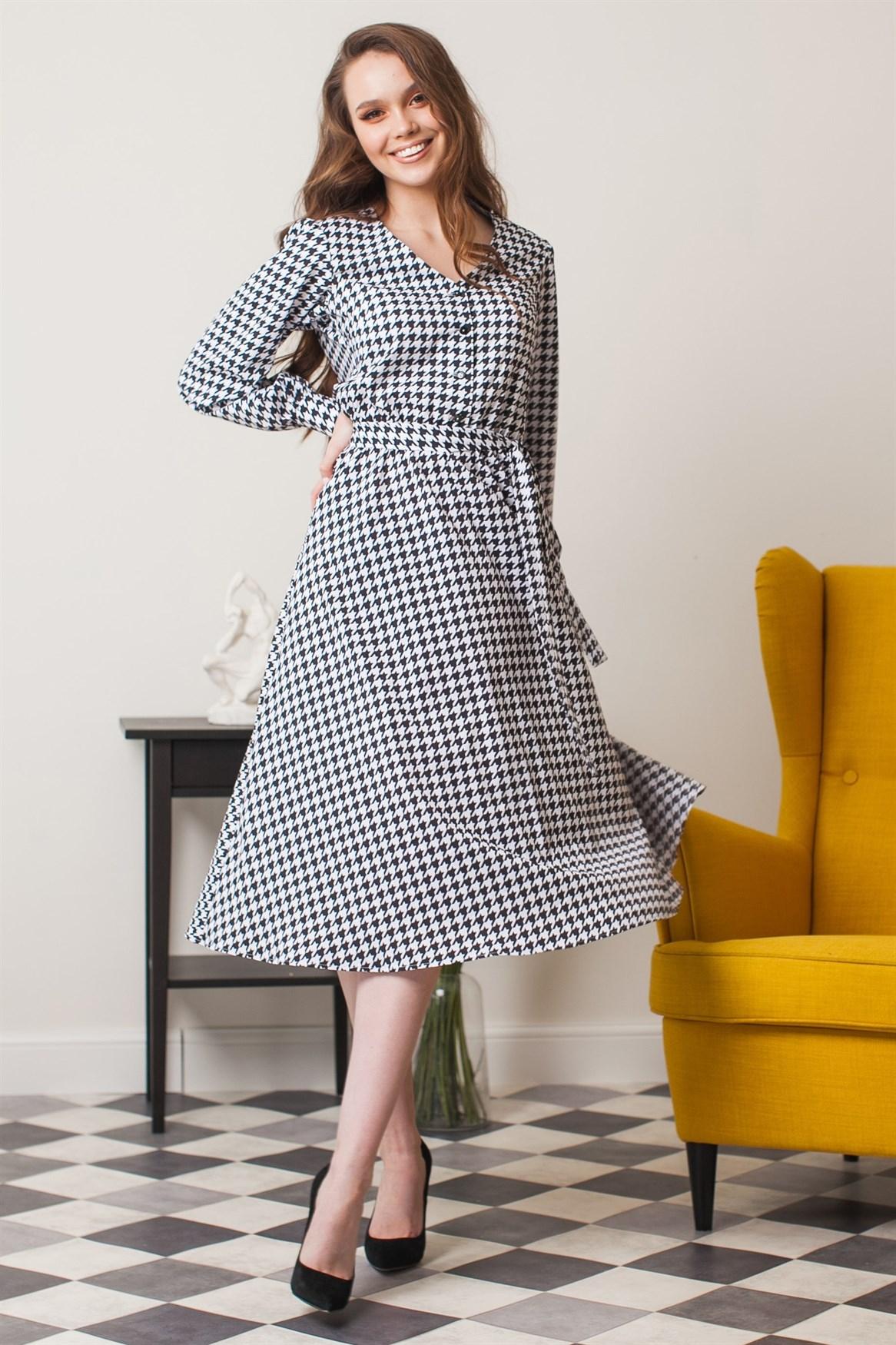 100-11 Платье - фото 11255