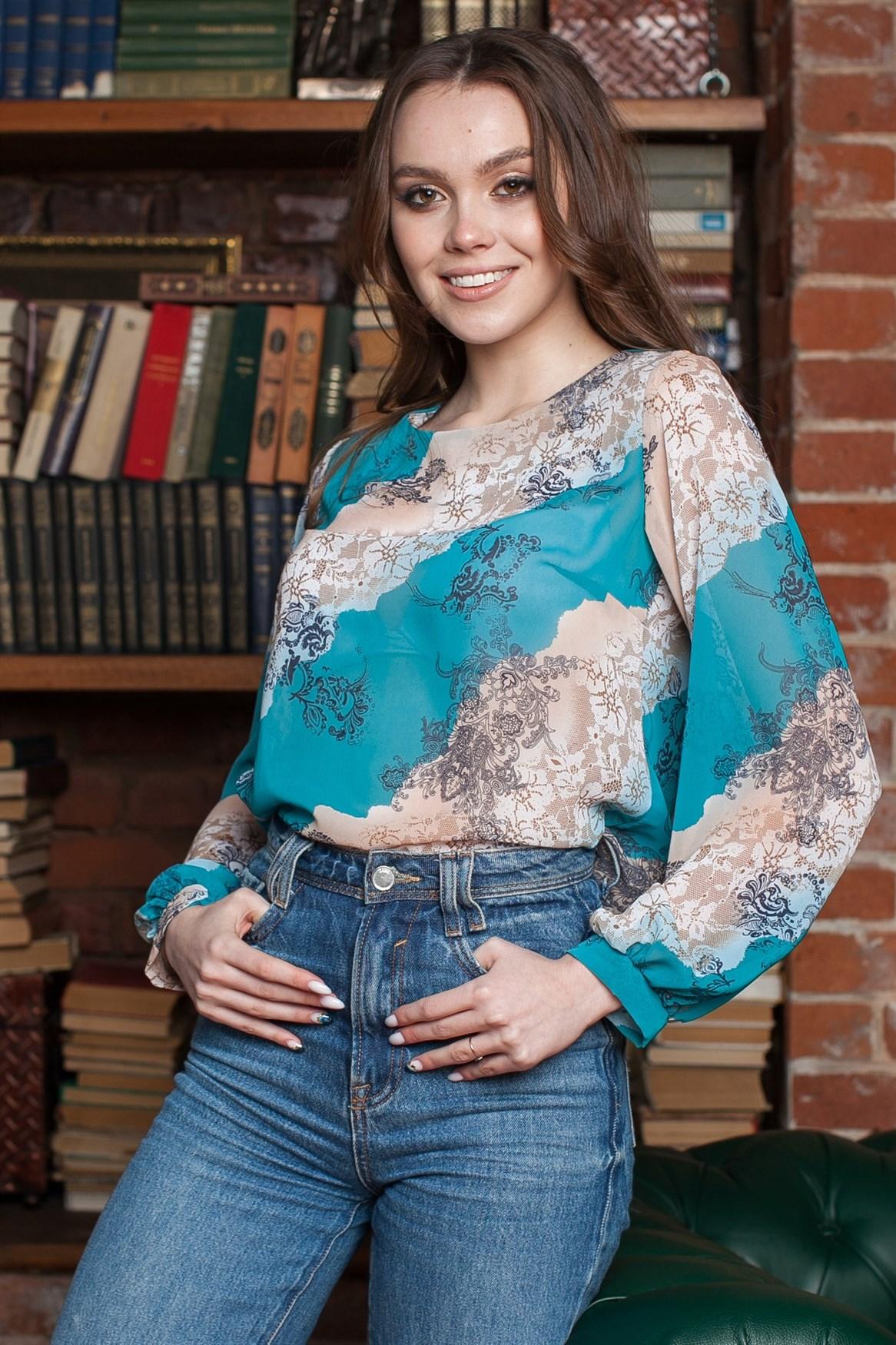 Н-819 Блуза - фото 11888