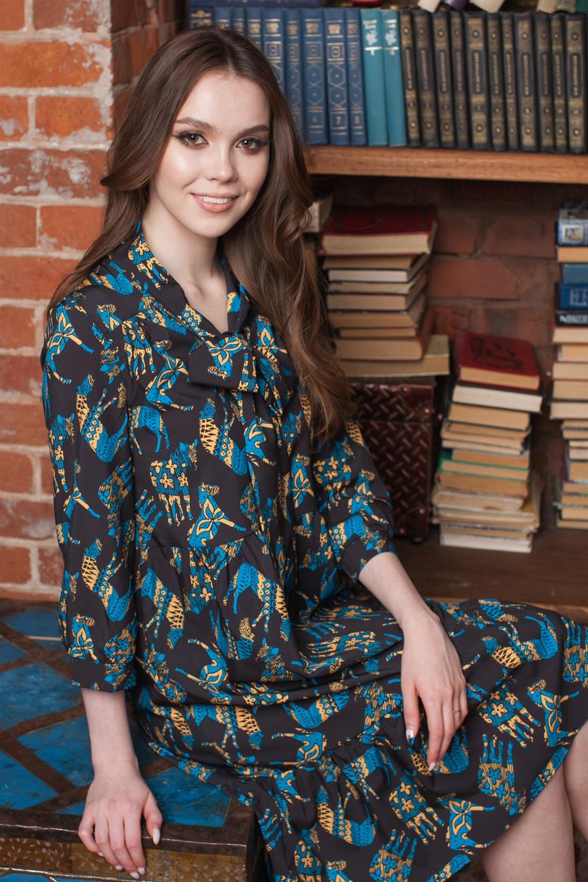105-09 Платье - фото 12530