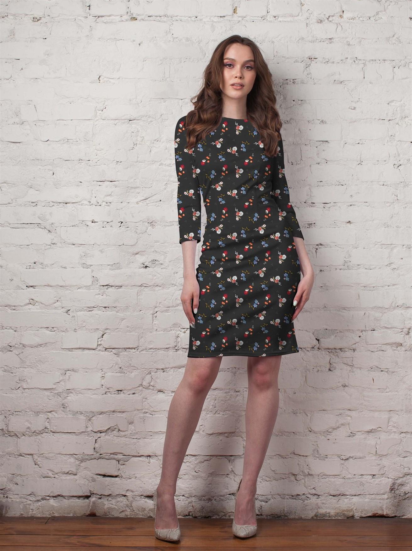 124-03 Платье - фото 14336