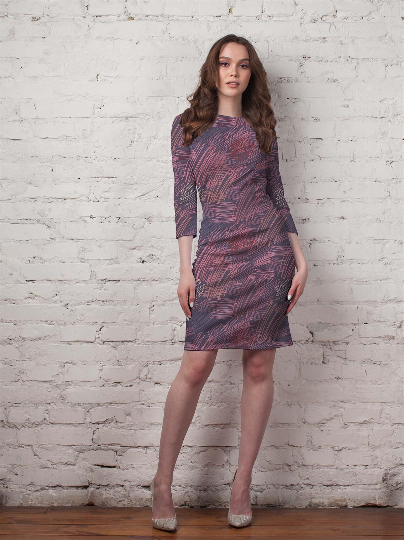 124-01 Платье - фото 14338
