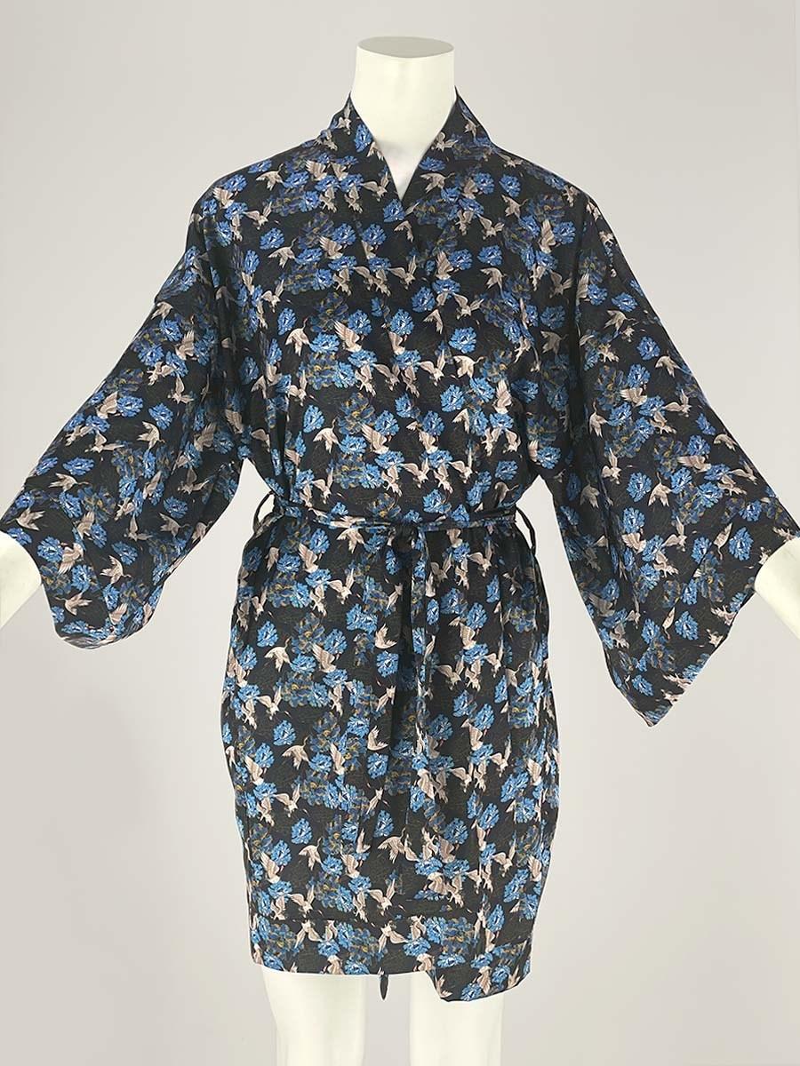 120-09 Халат-кимоно домашний - фото 14346