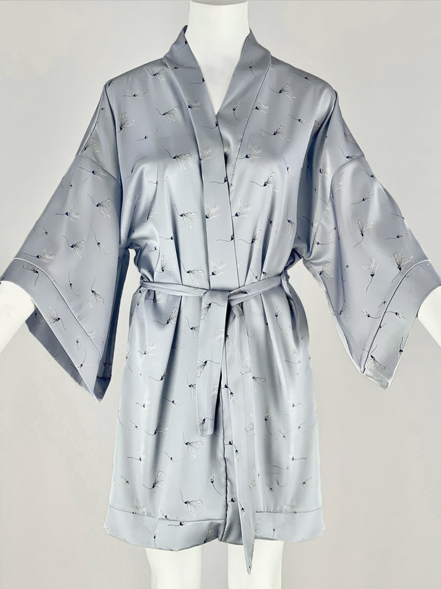 120-10 Халат-кимоно домашний - фото 14350