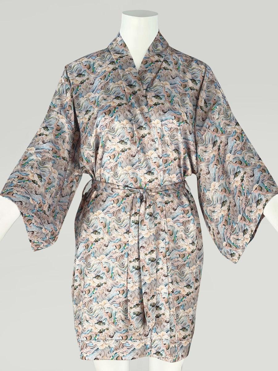 120-11 Халат-кимоно домашний - фото 14354