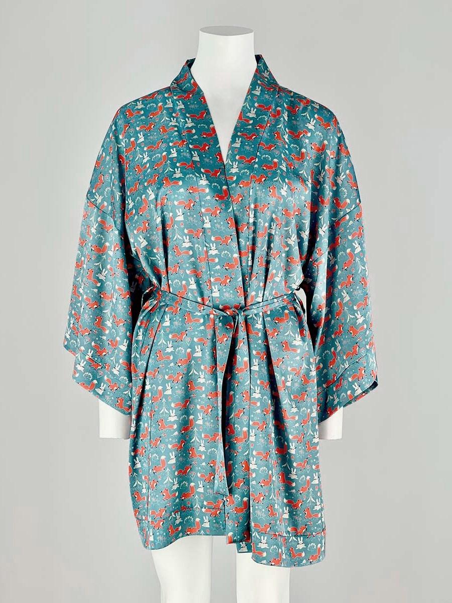 120-12 Халат-кимоно домашний - фото 14358
