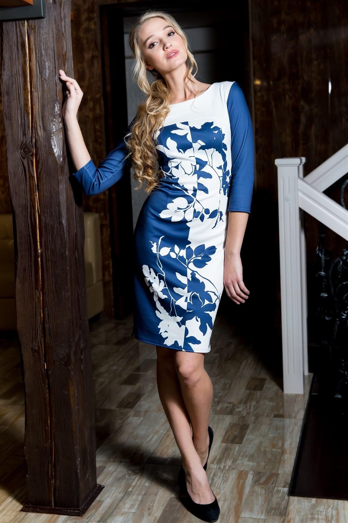 55-06 Платье - фото 5648