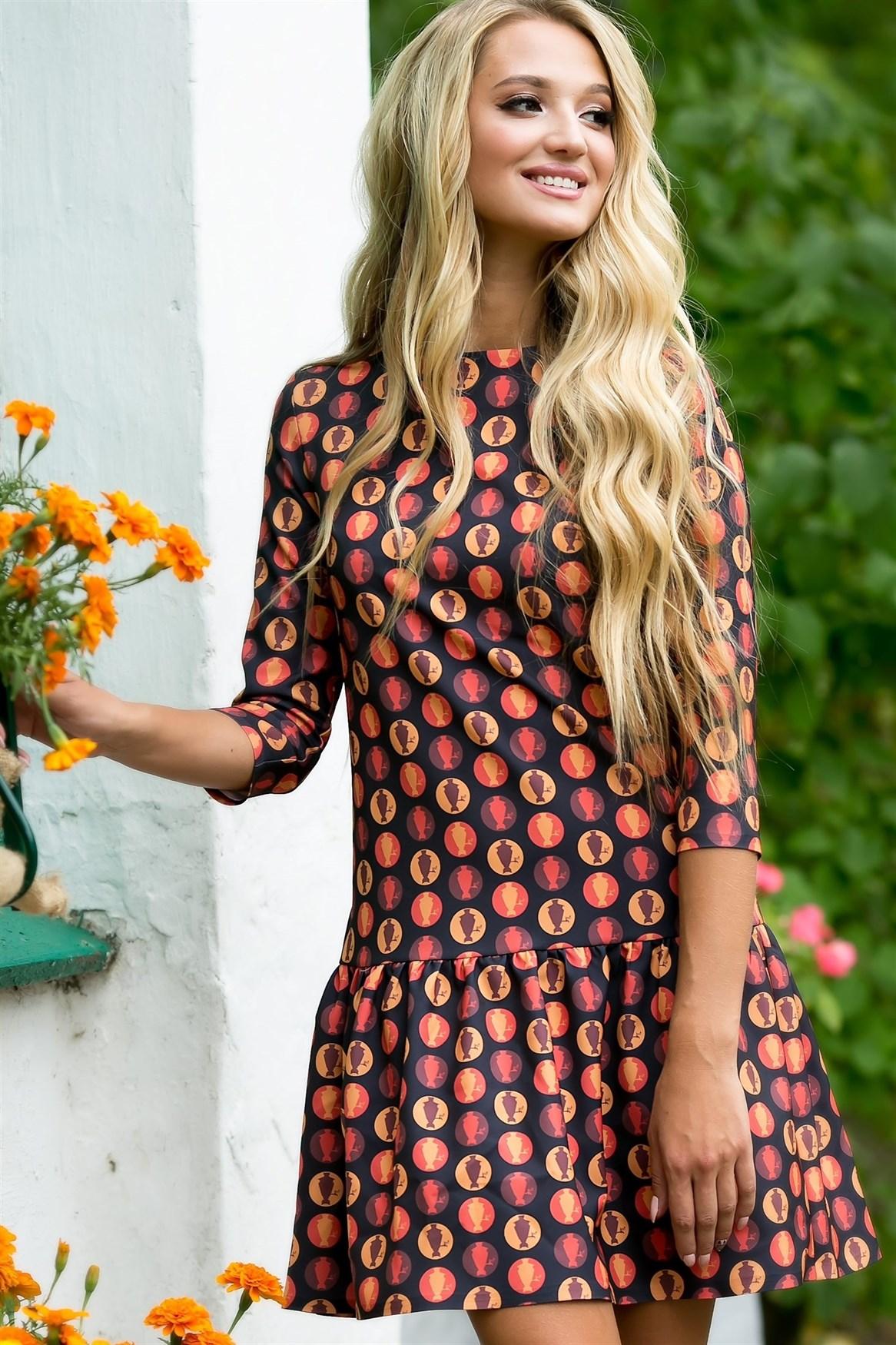 73-07 Платье - фото 7006