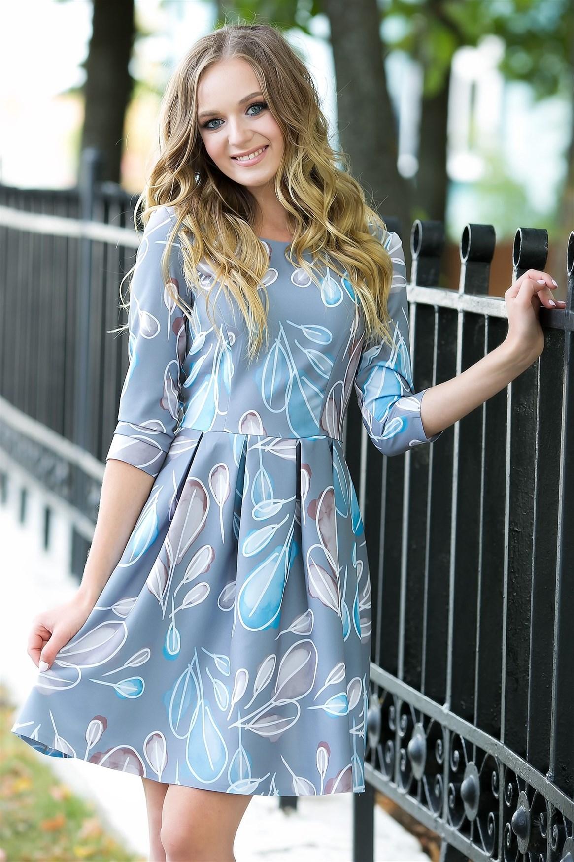 74-09 Платье - фото 7090