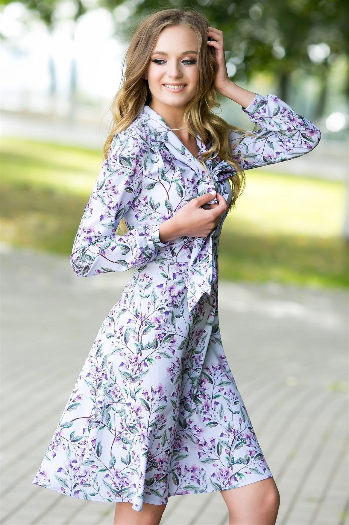 74-07 Платье - фото 7109
