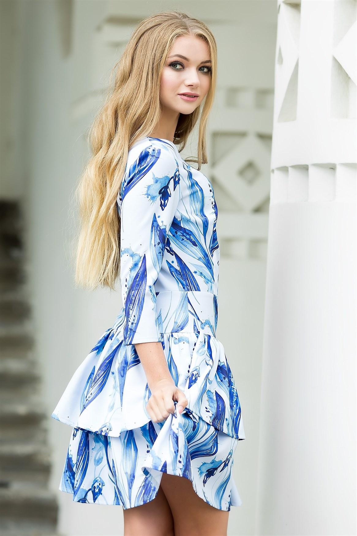 75-07 Платье - фото 7206