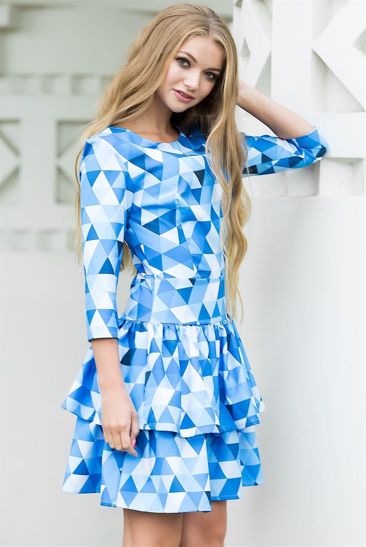 75-03 Платье - фото 7229