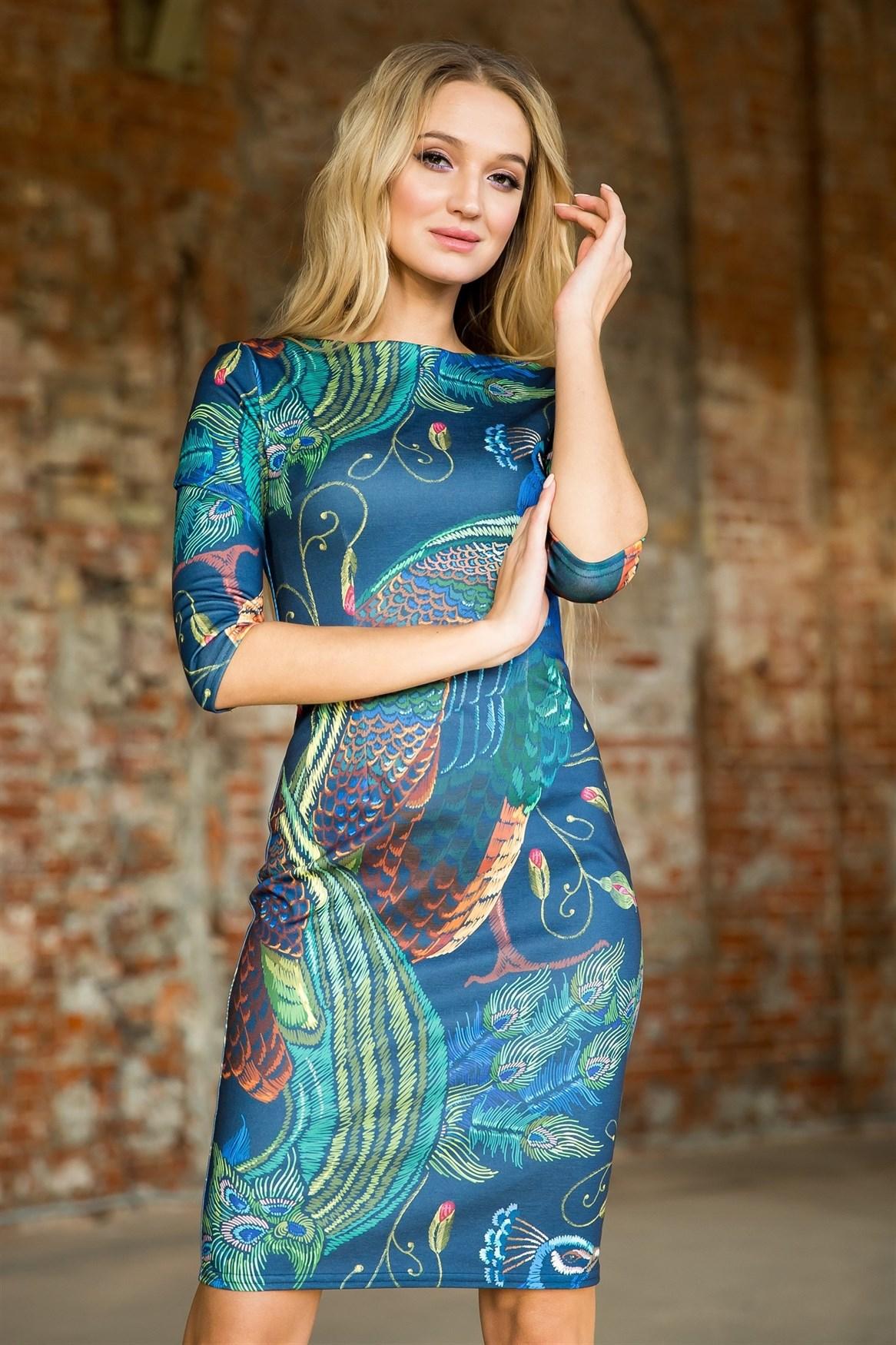 76-04 Платье - фото 7298