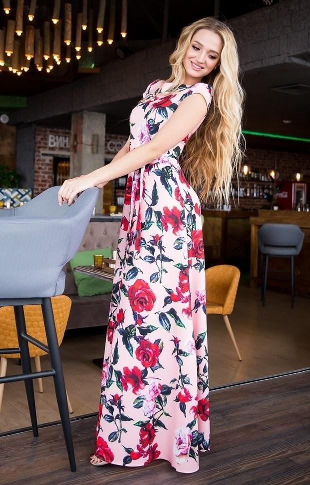 62-04 Длинное платье - фото 8453