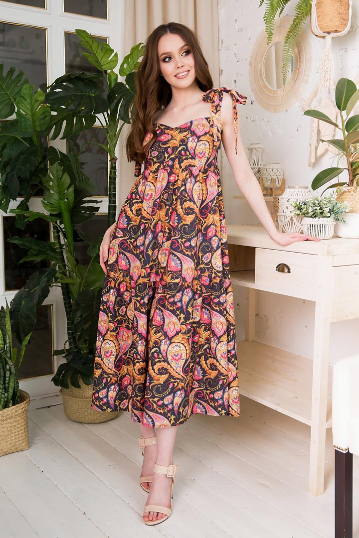 83-01 Платье - фото 8486