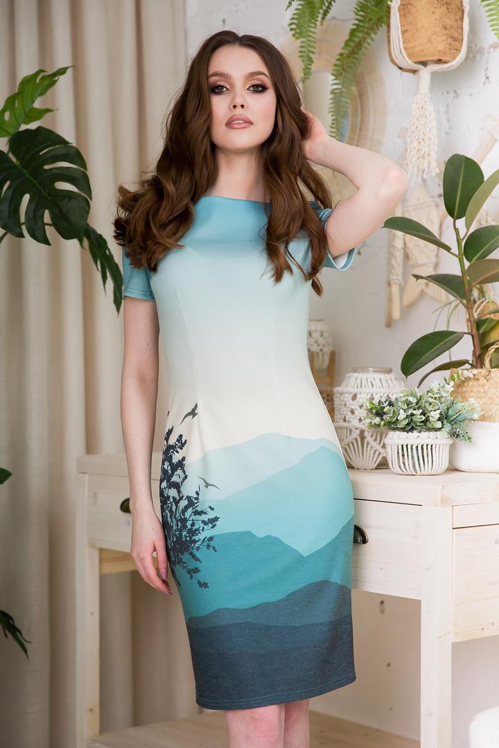 83-02 Платье - фото 8501