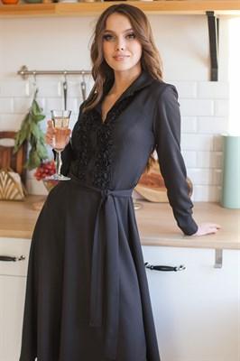 94-13 Черное платье