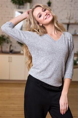 78-10 Трикотажная блуза - фото 4761