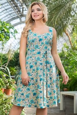 522-26 Платье из хлопка - фото 5374