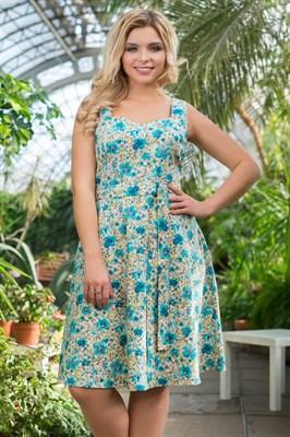 522-26 Платье из хлопка - фото 5375