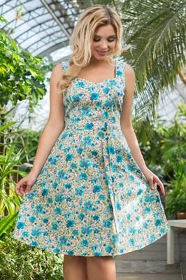 522-26 Платье из хлопка - фото 5376