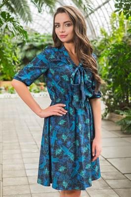 48-13 Платье с бантом - фото 5418