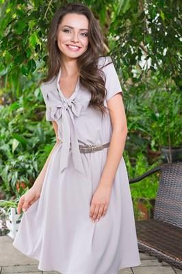 49-16 Платье с бантом - фото 5470