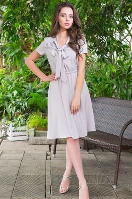 49-16 Платье с бантом - фото 5473