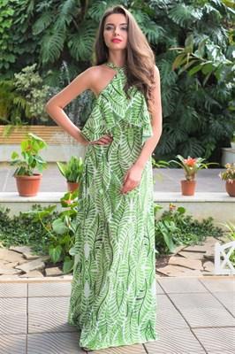 51-16 Платье с открытыми плечами - фото 5497