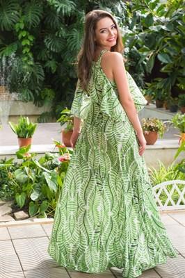 51-16 Платье с открытыми плечами - фото 5500