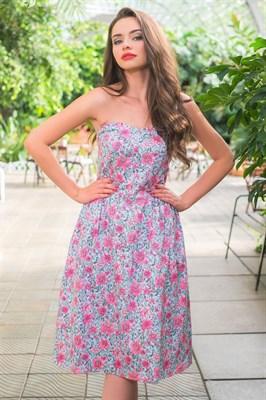 51-15 Платье с корсетным верхом - фото 5515