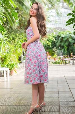 51-15 Платье с корсетным верхом - фото 5517