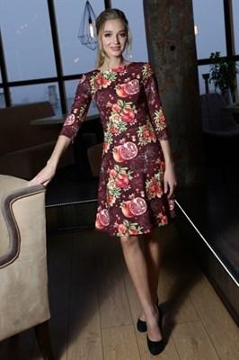56-04 Платье с гранатами - фото 5771