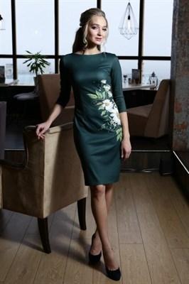 56-01 Платье с ромашками - фото 5798