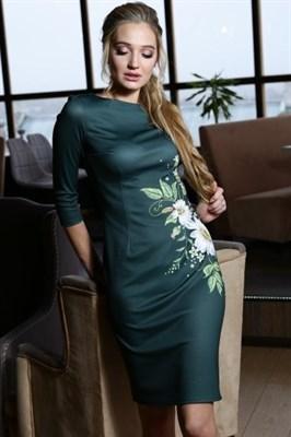 56-01 Платье с ромашками - фото 5799