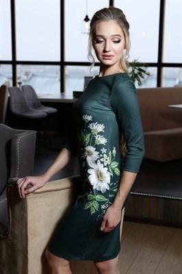56-01 Платье с ромашками - фото 5801