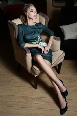 56-01 Платье с ромашками - фото 5802