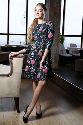 56-02 Платье - фото 5821