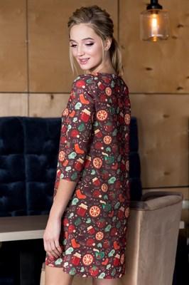 57-02 Платье А-силуэта - фото 5871