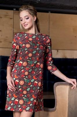 57-02 Платье А-силуэта - фото 5873
