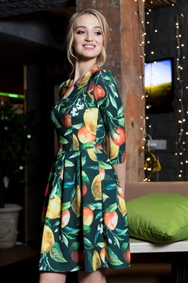 60-10 Платье с лимонами