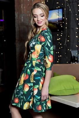 60-10 Платье с лимонами - фото 6018